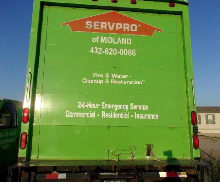 Commercial Services Offered By Servpro Of Midland Tx